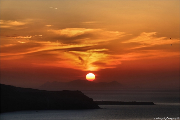 Sunset on the Cyclades