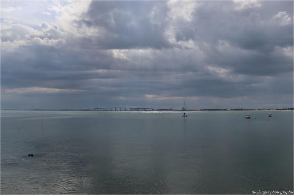 Eclaircie au-dessus de La Rochelle