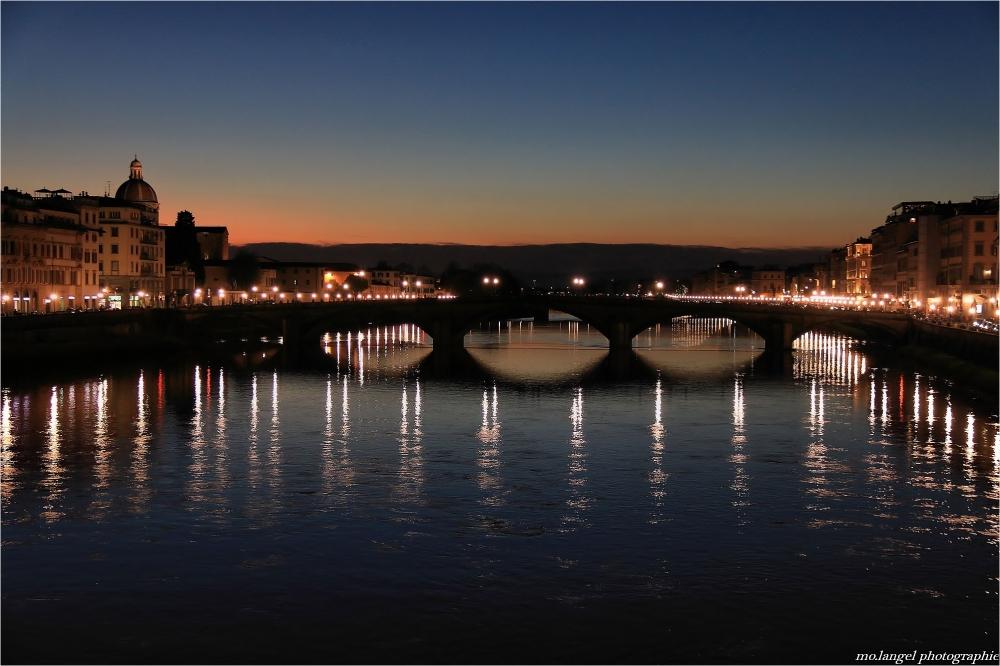 Lumières sur l'Arno
