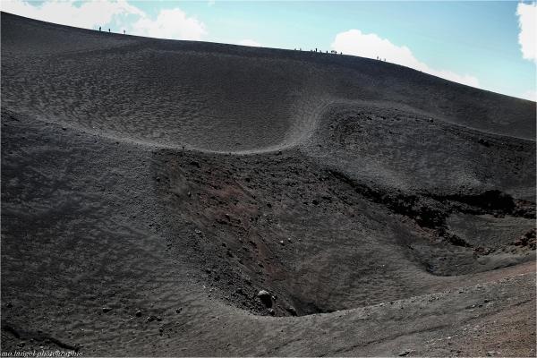 On a marché sur le volcan