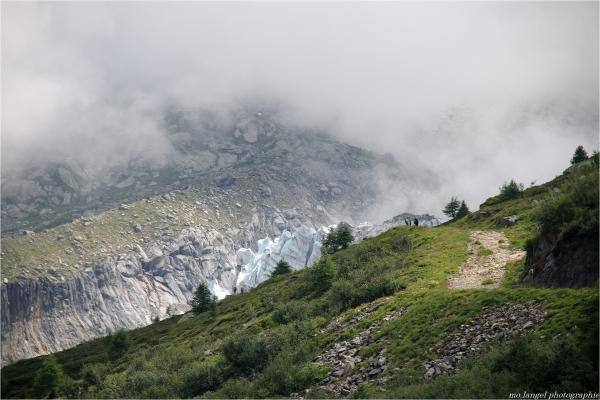 L'approche du glacier