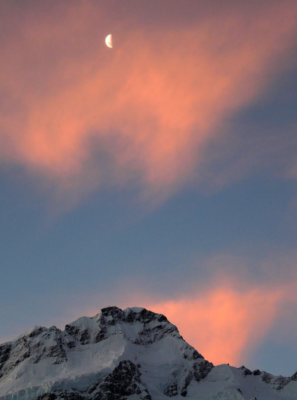 Mt. Cook Half Moon