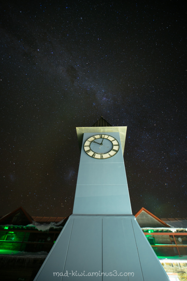Cardrona Clock Tower I