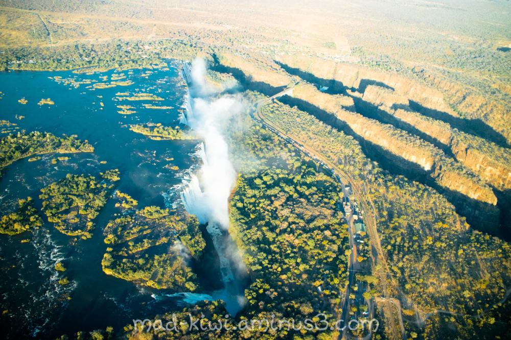 Victoria Falls Helicopter Flight II