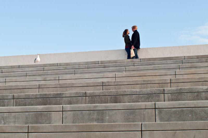 Couple at Aquatic Park