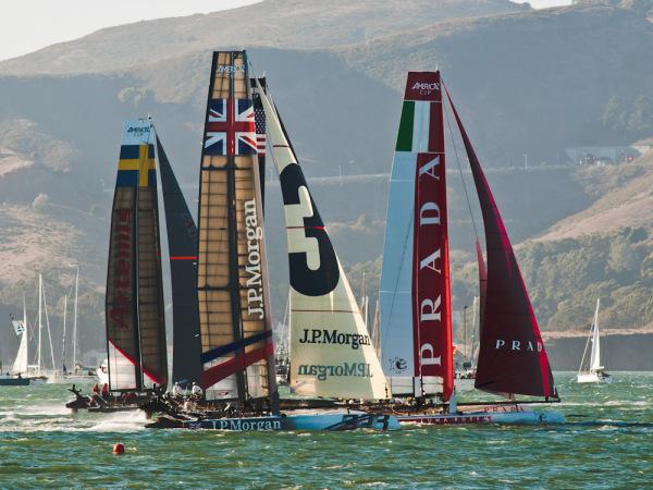 Americas Cup Fleet Race