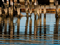 Reflections of an Old Pier