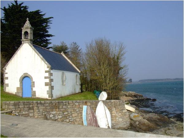 Chapelle St Guillaume à Plouhinec (Bretagne)