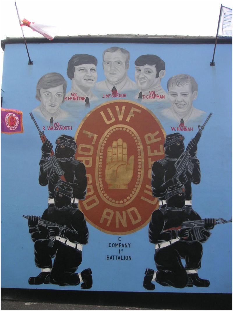 Fresque de Shankill - Belfast