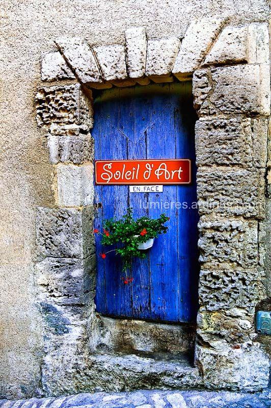 vieille porte aux Baux de Provence