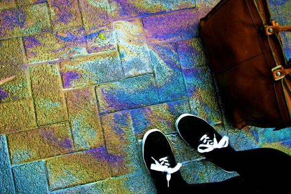 rainbow paving