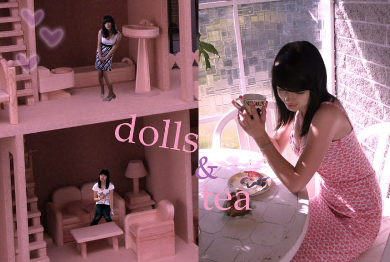 dolls and tea