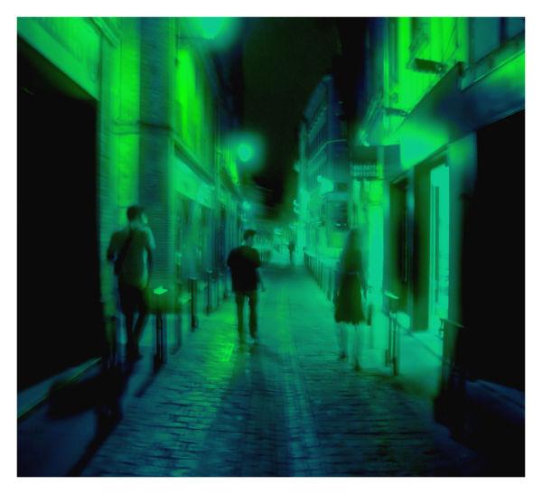 Déambulation nocturne
