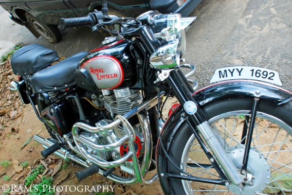 Vintage beauty, 1969 Royal Enfield