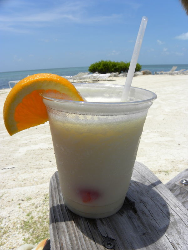 pina colada, beach