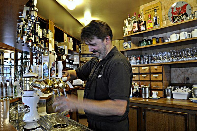 Une bière - sans pression