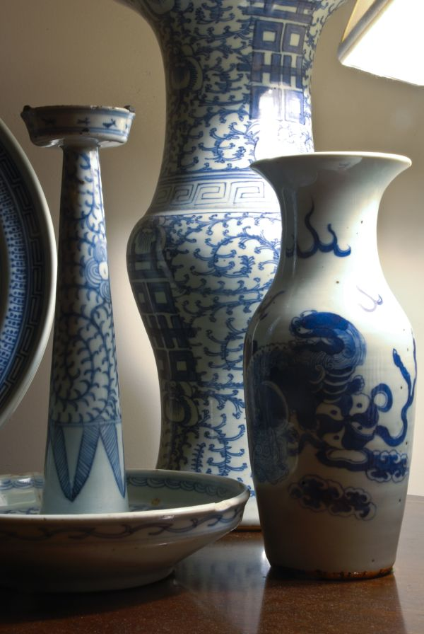 blue and white chinese porcelain