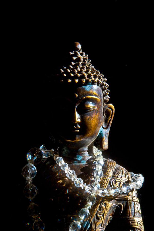 buddha crystal beads