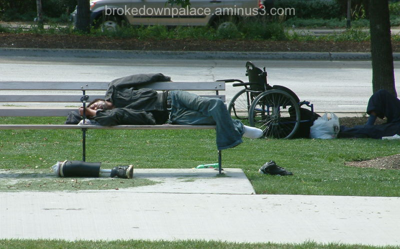 Chicago homeless
