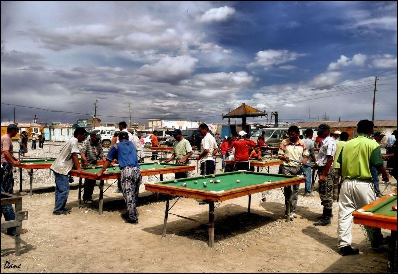 Au marché .. en Mongolie..