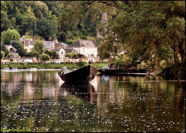 Un soir en canoé sur le Cher..