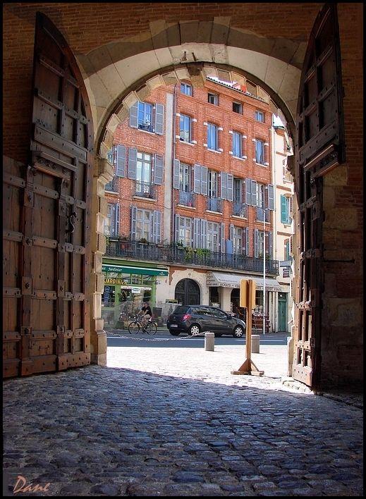au hasard des rue à Toulouse..