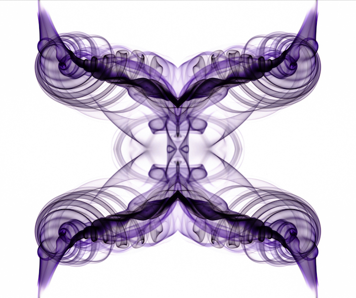 Smoke 3 - Inverted, mirrored, & multiplied