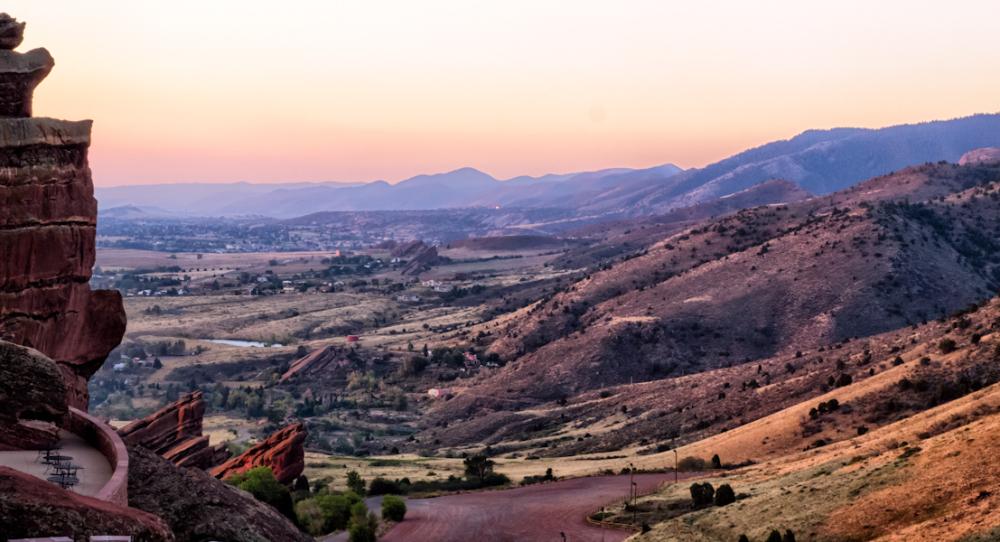Sunrise at Red Rocks