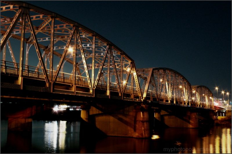 night view bridge kuze LEICA