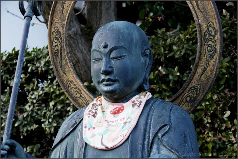The face of the Buddhist image LEICA