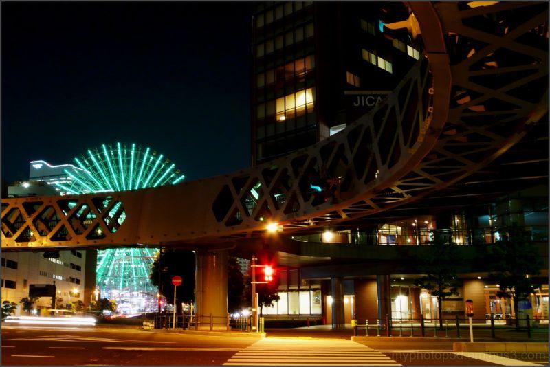 yokohama night view The crossing