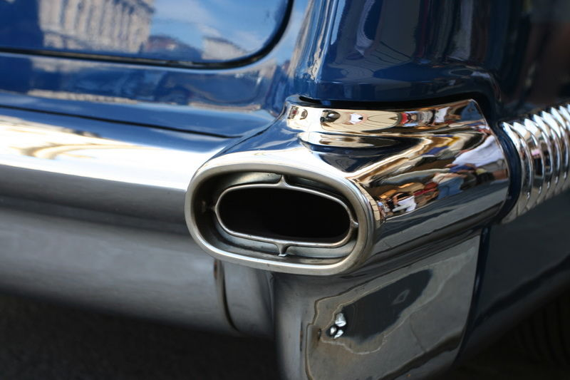 car urban exhaust