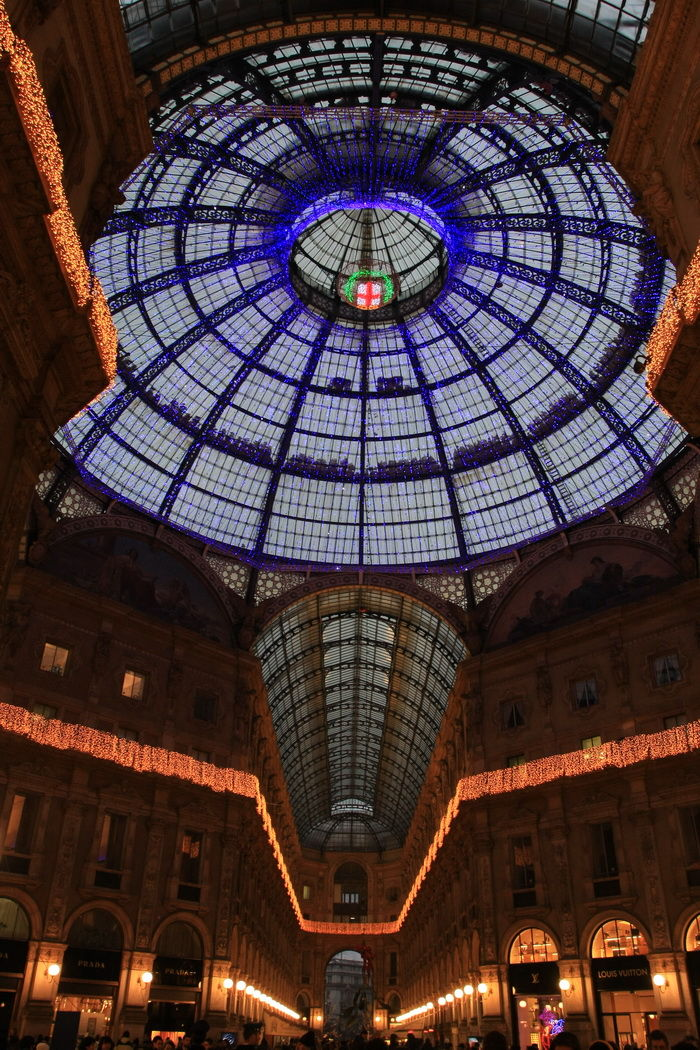 Galleria Vittorio Emanuele II Christmas Version