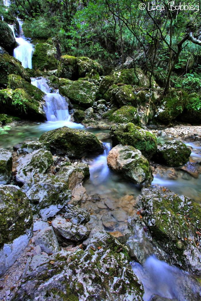 Cascata del Vallimpach