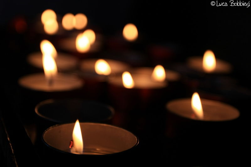 Candles Bokeh