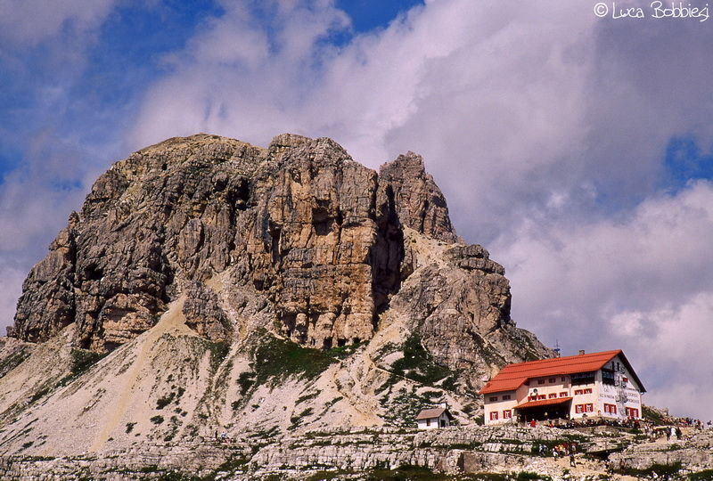 Rifugio Locatelli e Torre Toblin