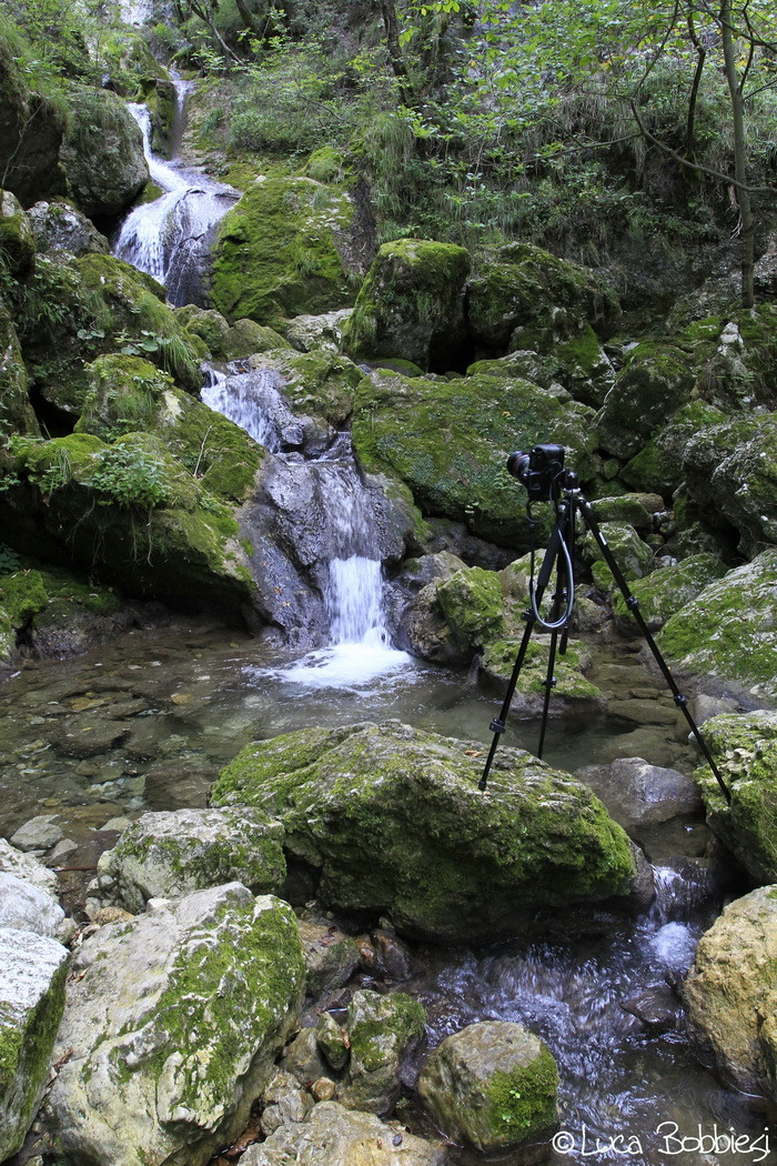 Shooting the Waterfall