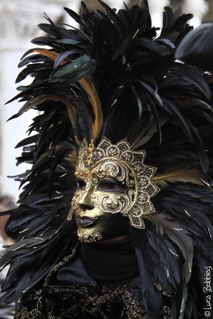 Black & Gold Mask