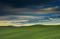 Evening Clouds Over the Palouse