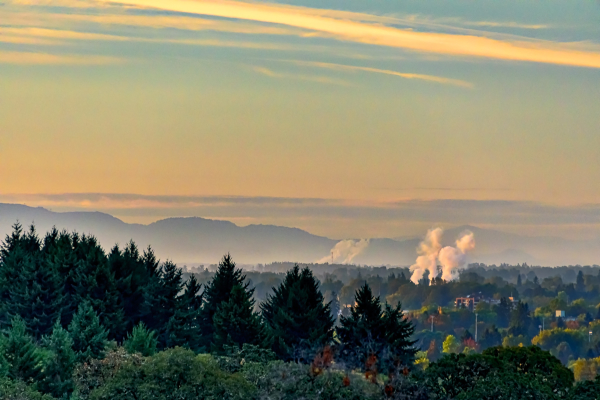 Sunrise Over Corvallis