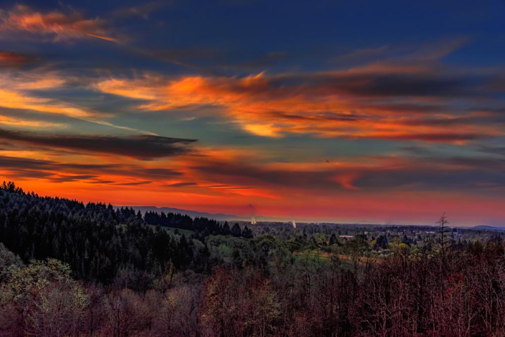 Sunrise Over the City #2