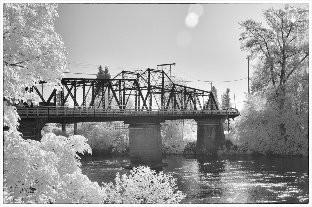 Van Buren St. Bridge IR