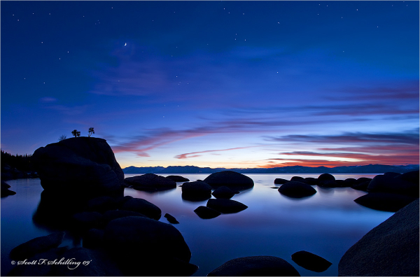 Lake Tahoe Twilight