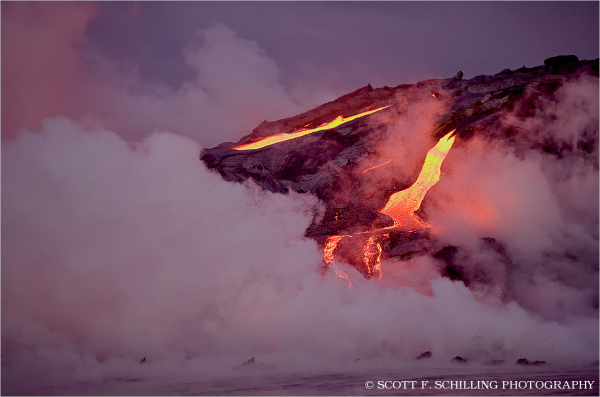 Lava Flow - Hawaii