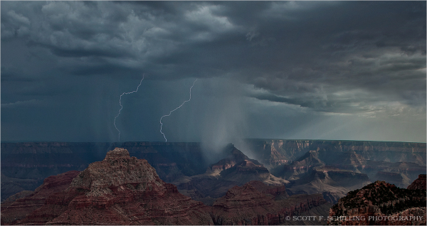 Grand Canyon Thunderstorm