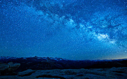 The Celestial Skies - Yosemite