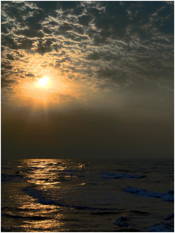 Sun, sky and sea