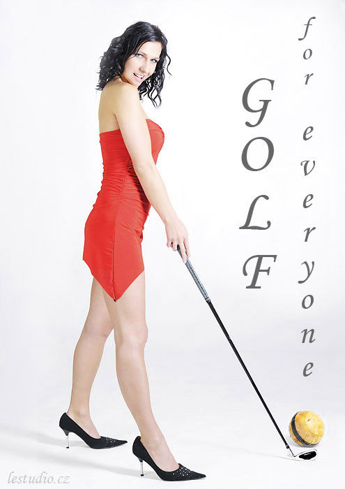Golf-beginner-girl