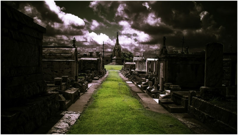 A cemeery in New Orleans.