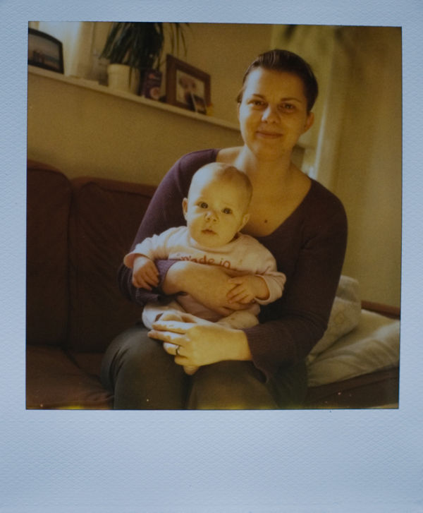 Dorka and mum